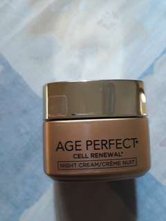 loreal paris age perpect cell renew cream