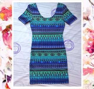 Forever21 Boho Fitted Dress
