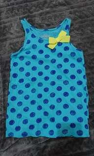 Oshkosh 女童無袖上衣 尺寸:6X