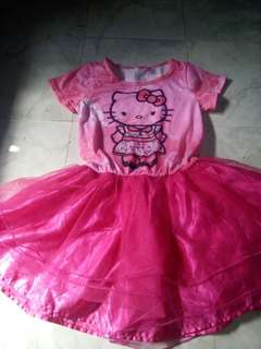 Hello kitty dress 10-12 yrs old