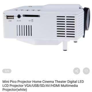 Mini projector HD