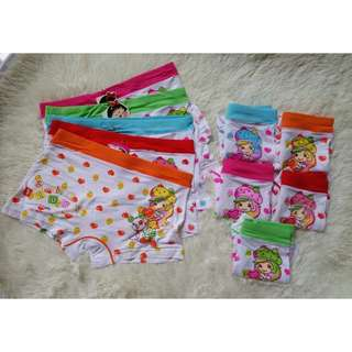 10-12 Years Old Girl Underwear [Any 5 for $10]