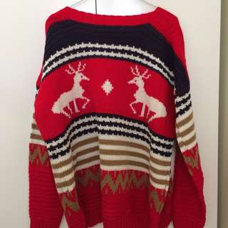 Christmas knit sweater