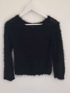 Glassons - Fluffy winter top - Size L