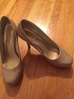 Madden girl nude heels size 8