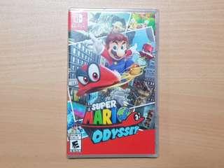 Super Mario Odyssey for Nintendo Switch Labour day special rental! ( Mario + Rabbids Kingdom battle , Arms)