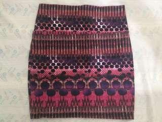 Charlotte Russe short bodycon skirt