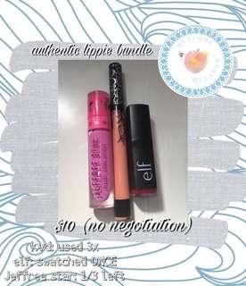 authentic lippie bundle
