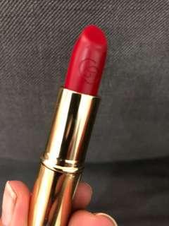 Oriflame Giordano matte lipstick warna forever red