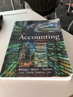 Third edition Accounting an Asian edition