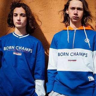 BornChamps 3 Colour Hoodie
