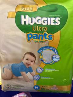 Huggies Pants For Boy - Size M