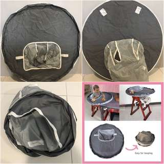 High chair waterproof seat cover