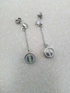 Cartier inspired earrings