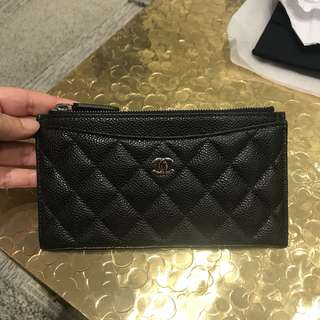 Authentic CHANEL Long card holder