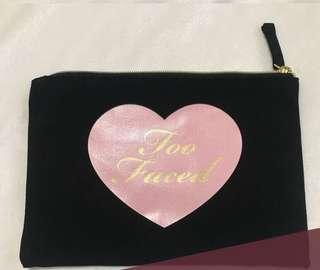 Too faced original pouch makeup bag