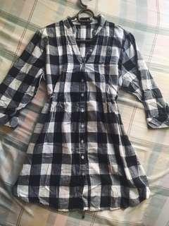 Preloved plaid dress