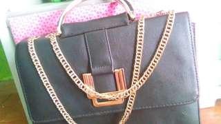 Pre-loved Leather Sling  Bag
