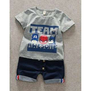 Korean Baby Boy Set