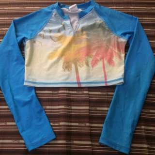 Sassa Crop Top Rashguard
