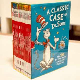 20 Dr Seuss Children Story Book Sealed Brand New