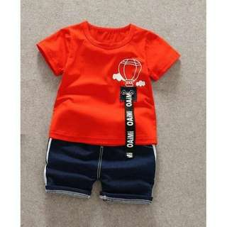 Korean Baby Boy Set