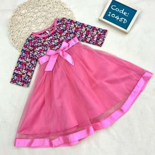 Flora Muslimah Jubah Lace Dress for Girl