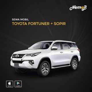 Rental Mobil Fortuner Murah dan Berkualitas di Jakarta Hanya di Nemob.id