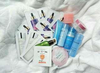 Korean Skin Care Sample Bundle
