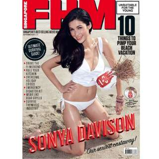 FHM Singapore - September 2014 Issue