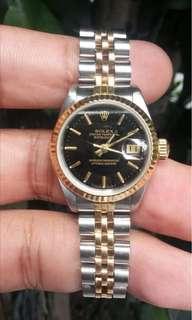 Authentic Rolex Datejust Ladies