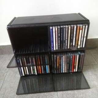 CD Bank/Rack W/O  CD