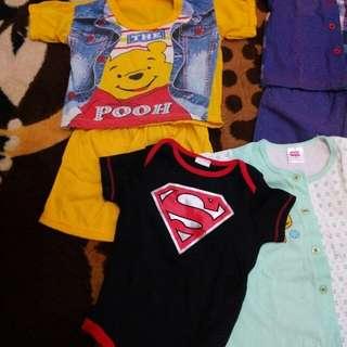 pooh baby cloths #MY1010