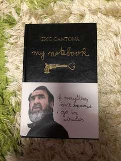 Buku My Notebook(Hardcover)Eric Cantona - Manchester United