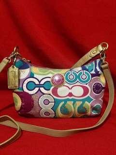 Sale!!! Authentic Coach Poppy Two Way Bag