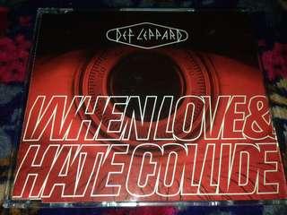 CD SINGLES DEF LEPPARD