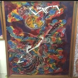 🚚 BaLi 峇厘島,異國風景,藝術畫作
