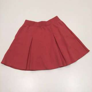 Uniqlo Girls Pink Skater Skirt