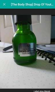 Drop of youth concentrate