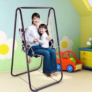 2 in 1 Swing and Laundry Rack