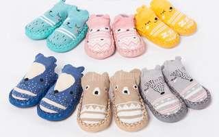 [In Stock] Brand new Handwoven Anti-slip Prewalker Shoes