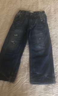 Baby gap long ripped jeans sz 5