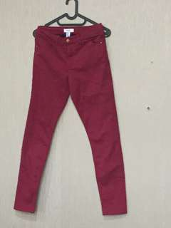 Red pants forefer21