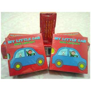 Buku Batita 6in1 Boardbook Murah My Little Car DISC 5%