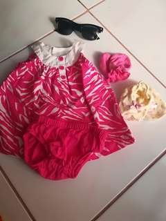 Carter baby dress bundle