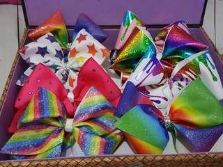 Jojo siwa inspired hairbows