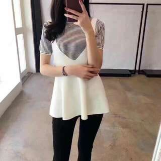 🍃2 in 1 Soft Knitted Blouse