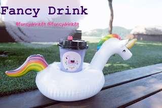 Mini Unicorn 🦄 float- drink holder