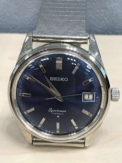 Seiko Vintage 1975 Sportsman 17J Manual 6602-9981