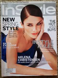 Helena Christensen - In Style UK
